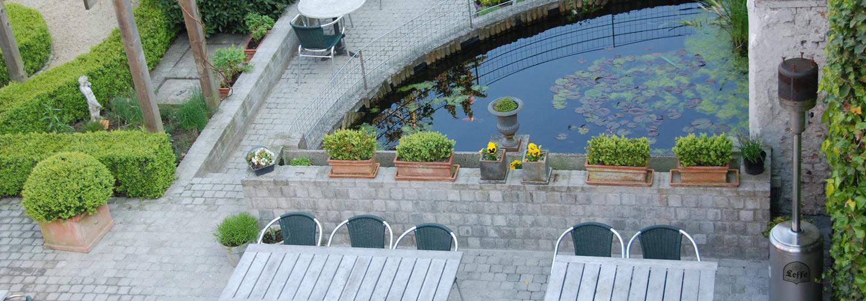 Hotel de la paix garden